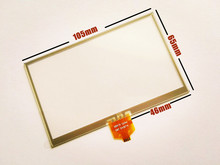10pcs/lot New 4.3 inch Touch screen for LMS430HF09 LMS430HF10 GPS digitizer panel replacement