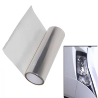 "DIY 12""x48"" Clear Tint Headlight light lamp Film Sticker Decal Tint Vinyl"