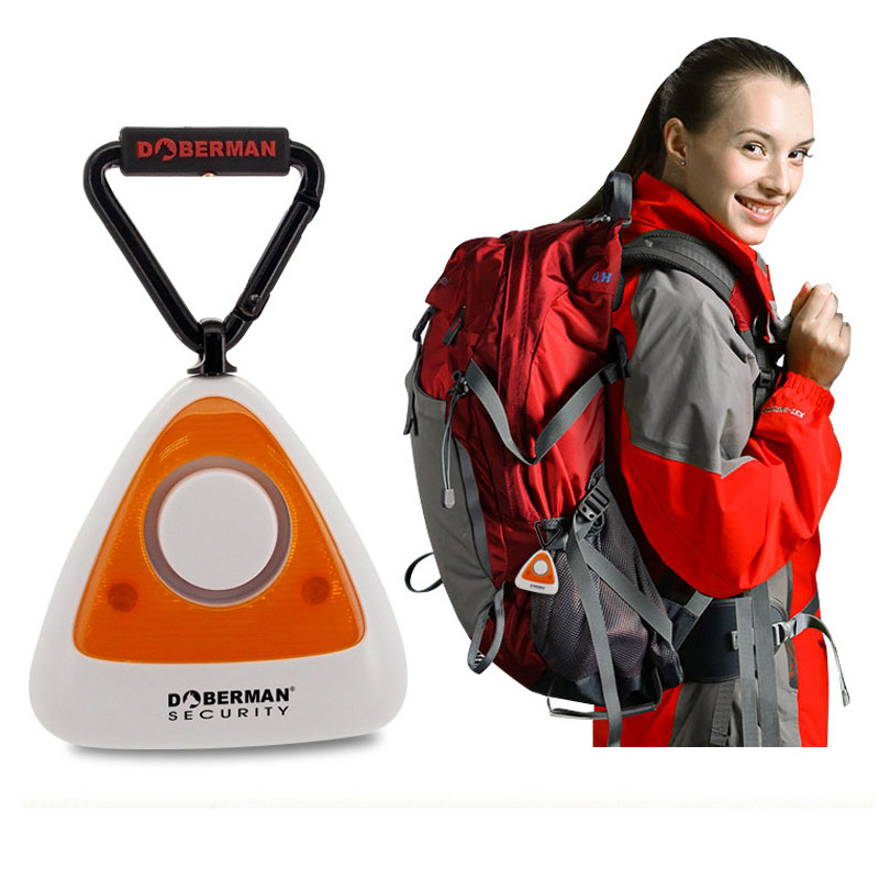 Waterproof Outdoor Alarm Anti-theft Alarm Camping with Helping Light Alarm Portable Camping Alarm FC(China)