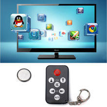 Universal Infrared IR Stealth TV Remote Control Keychain KeyRing Prank Tool