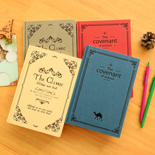 2017 New A5 Paper Vintage Notebook Daily Memos Travel Journal Agenda Planner Organizer Office Composition Book Stationery