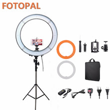 Fotopal 180pcs LED 5500K Dimmable Photography Photo/Studio/Phone/Video LED Ring Light Led Lamp Selfie Light With Tripod Gifts(China)