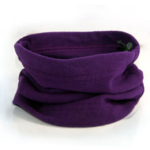 New Hot Multifunctional 3 In 1 Scarf Unisex Men Women Thermal Warm Fleece Snood Scarf Neck Warmer Beanie Balaclava Hat(China)