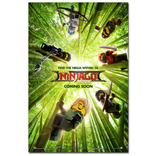 Lego Ninjago Movie Cartoon Poster Canvas Print Home Decor Wall Art Poster