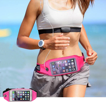 Sport Accessories Phone bag Waterproof mobile Phone Gym Waist Bag Running Wallet Phone Pouch For font