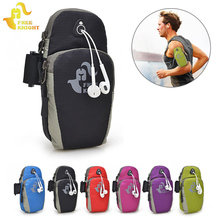 Free Knight 5.5inch Running Jogging GYM Phone Bag Sports Wrist Bag Arm Bag ,Outdoor Waterproof Nylon Hand Bag For Camping Hiking