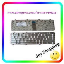 +Good quality+New original Laptop keyboard, Notebook keyboard for HP DV5 US version and silver color  2PC/LOT