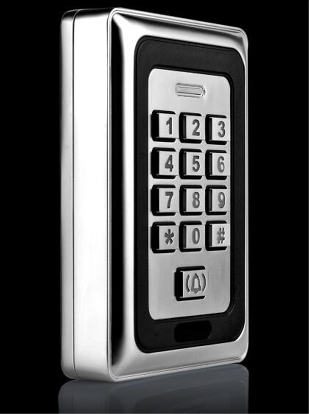 Home Use Metal Keypad Hotel Smart Door Lock Access Control System <br>
