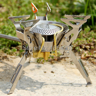 2017 New Fire Maple Stove Camping Cook Gas Burners Backpack Stove Cooking Outdoor Camping Hiking Stainless Steel FMS-100 2450W<br>