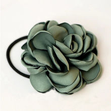 1PC Dainty Women Girls Elastic Hair Bands Rose Flower String Scrunchie Hair Accessories Gift(China)