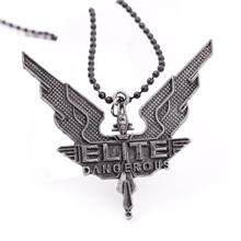 PS4 game peripheral ELITE Dangerous elite necklace pendant jewelry wholesale be threatened by growing crises(China)