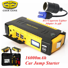2017 Mini Car Jump Starter 600A Portable Starter Power Bank 12V Charger for Car Battery Booster Buster Diesel Starting Device CE(China)