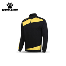 KELME Outdoor Sports Men High Quality Football Jerseys Training Long Sleeve Pullover Clothing Thermal Top Jackets 08