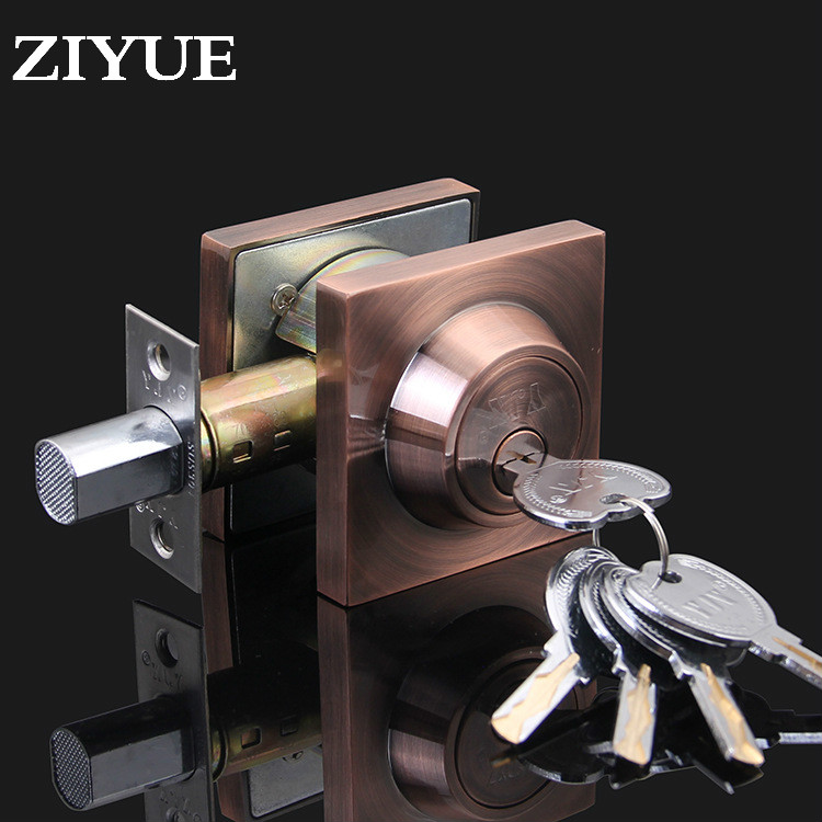 Free Shipping Invisible Door Lock Super C - Class Locked Back Wall Anti Theft Channel Double Sided<br>