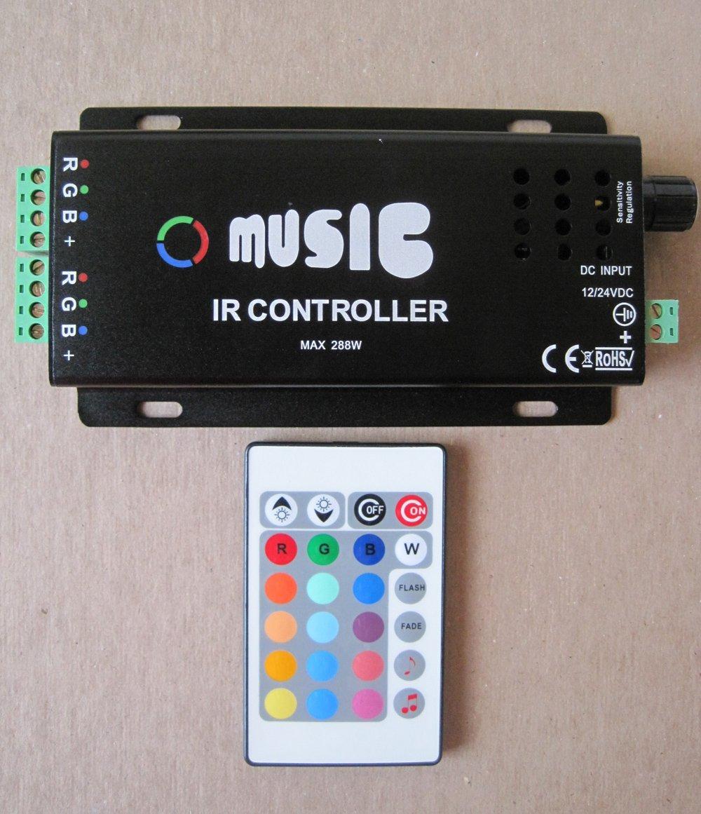 Схема RGB контроллера для светодиодной ленты 4