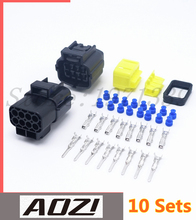 10 Set AMP 8 Pins Way Waterproof Automotive Connector Plugs Enhanced Seal 1.8 Series New Car Part(China)