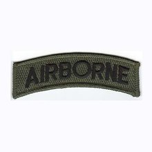 Make any items as client request,MOQ50pcs,AIRBORNE patch,merrow border,PVC backing,100pcs/bag,High quality,free shipping