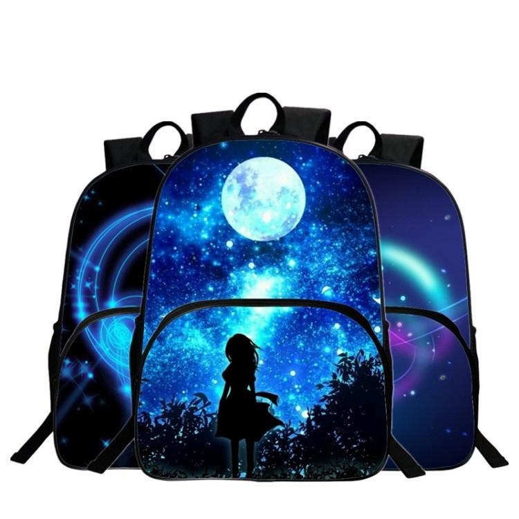 حقائب مدرسية / الكون / الفضاء/ 24 لوان للبنات 1