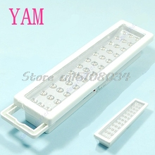 36-LED Rechargeable Emergency Light Lamp High Capacity #S018Y# High Quality