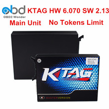 2017 Newly Ktag K-tag Main Unit K TAG ECU Chip Tuning Tool Ktag Hardware V6.070 Master Version ECU Manager Tuning Kit No Cables