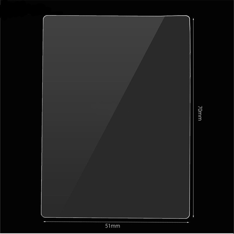 1pc 9H Tempered Glass LCD Screen Protector Film Suitable For Sony A7II A7SII A7RII A77II Camera