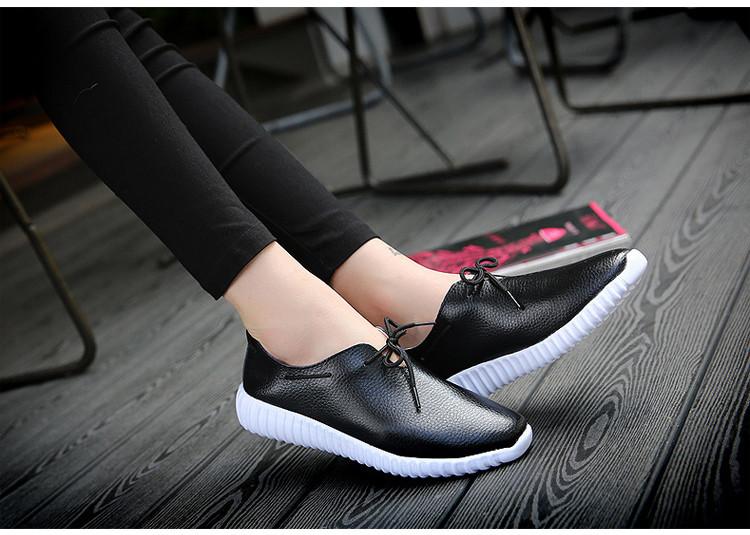 AH 2816 (15) Women's Leather Flats Shoes