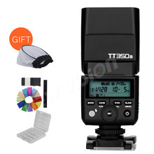 New Arrival! Godox Mini Speedlite TT350S Camera Flash TTL HSS GN36 for Sony Mirrorless DSLR Camera A7 A6000 A6500