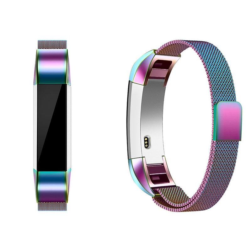 Amzdeal Fashion Metal High Quality Replacement Strap Wrist Band Belt for Fitbit Alta Bracelet HR Monitor Smart Watch Accessories 5