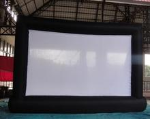 8*5m Giant Inflatable Movie Screen, Outdoor Inflatable Screen With  Blower