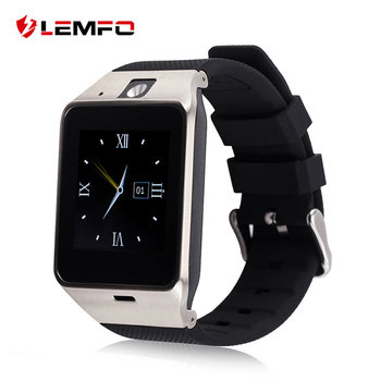 LEMFO GV18 Smart Watch ClockSupport Sim TF Карты Bluetooth для Андроид Телефон