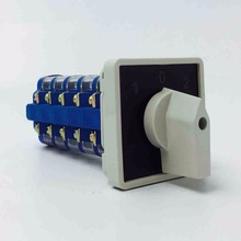 Universal Change-over Switch YM68-20/5 More Switch 5 Section 3 Silver File Contact 20A Blue In Section(China)
