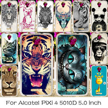 TAOYUNXI Silicone Phone Cover For Alcatel OneTouch Pixi 4 5.0 inch OT-5010 5010D Housing Cover 5010X 3G Version 5010S Bag Cases(China)