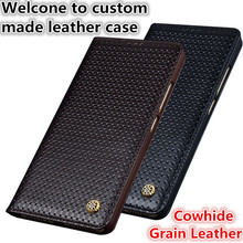 ND03 genuine leather flip case for Samsung Galaxy C5 phone case for Samsung Galaxy C5000 phone cover free shiping