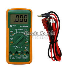 Free Shipping Upgraded version BEST 9205M Handheld LCD Screen Digital Multimeter With buzzer(China)