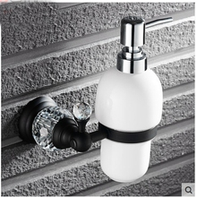 Oil Rubbed Bronze Crystal Kitchen Touch Soap Dispenser Liquid Soap Dispenser