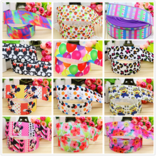 "Dobro 21 Choices 1.5"" 38mm Flower Balloon Printed Grosgrain Ribbons for Craft Party Decoration Gift Packaging,10 Y"