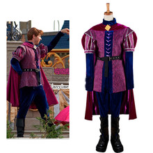Custom Made Sleeping Beauty Costume 4-Pieces Prince Phillip Cosplay Costume For Man