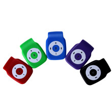 5 Colors High-Quality Sound Running Mini Clip Metal USB MP3 Player Support Micro SD TF Card Music Media With Free Shipping H3T29