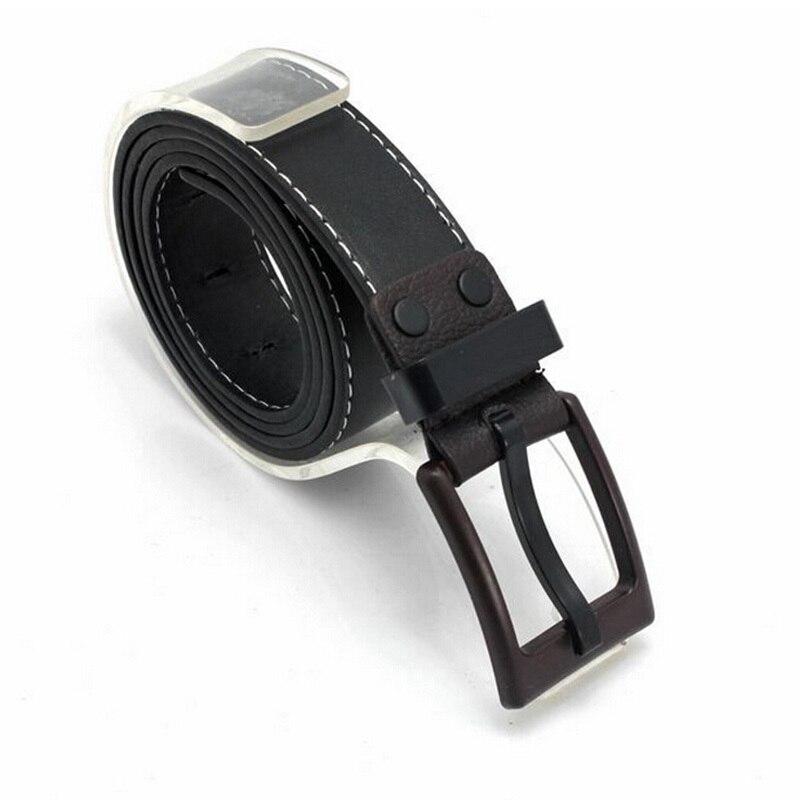 2018 Fashion Chic Brand 110cm Automatic Leather Belt Mens Leather Strap Jeans BletsMen Belts Belt