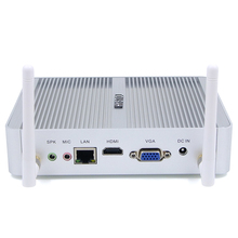 HYSTOU Intel Core i3-5005u 12V Fanless mini pc i3 Windows computer Barebone Linux Server 300M WiFi HDMI VGA 4K(China)