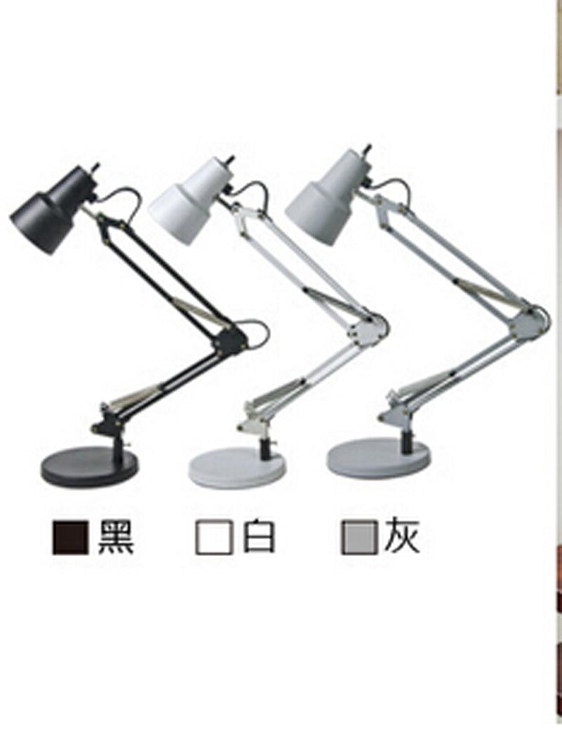 2015 Led Table Lamp Iron Morden American Foldable Long-Arm Desk Lamp Reading Lamp E27 110V 220V  Office Lamp For Study N1156<br><br>Aliexpress