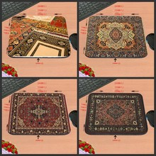 Hot Selling Persian Carpet Design Silicon Anti-slip Mousepad Computer Mouse Pad Mat For Optical Mice Trackball Mouse As A Gift(China)