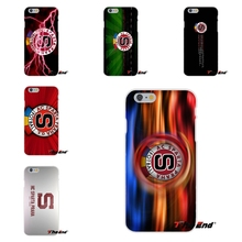 Painting Sparta Prague Football Logo Silicone Phone Case For iPhone 4 4S 5 5S 5C SE 6 6S 7 Plus Galaxy Grand Core Prime Alpha