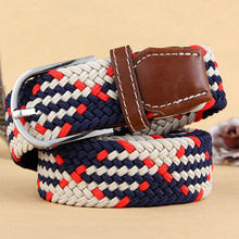 New Designer Plus Size Mens Canvas Cloth Belts Cintos Web Belt Black Braided Waist Belt for Jeans Cinturones Hombre Casual Kids