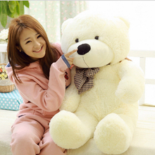 Large Size 80cm Stuffed Teddy Bear Plush Toy Big Embrace Bear Doll Lovers/Christmas Gifts Birthday gift(China)