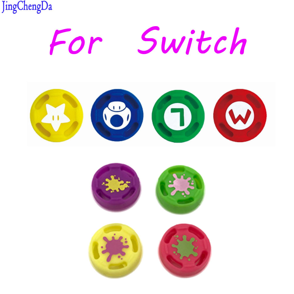 Silicone Thumb Grip Stick Caps Nintendo Switch Joy-Con NS NX Controller Cat Paw Joystick Caps Game accessories Store)