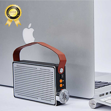 Classic stereo bluetooth speaker for music retro design hifi bluetooth speaker music bluetooth speaker for MP3 wireless column