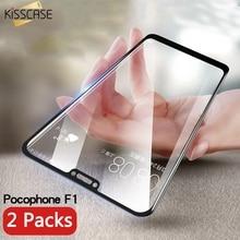 KISSCASE 5D 9H Tempered Glass Xiaomi Pocophone F1 Mi A1 A2 Max 3 Protective Glass Redmi 4x 5 5a Note 5 6 Pro Screen Film