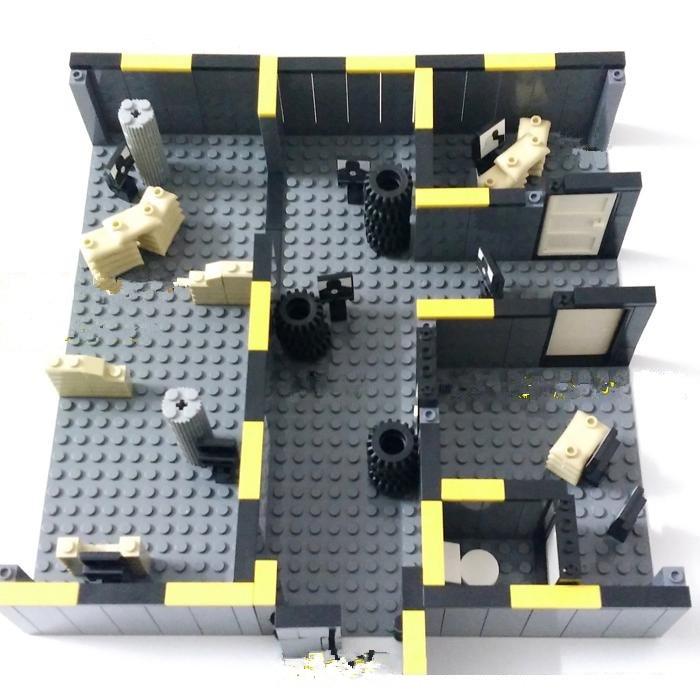 Original Blocks Educational Toys Swat Police Military Weapons Gun Model City Accessories  Mini figures<br>
