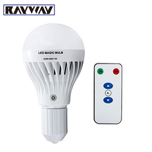 High Quality Factory Supply Dimmable E27 Emergency Light Bulb Multifunction 7W E27 Rechargeable Emergency Magic Bulb Flashlight